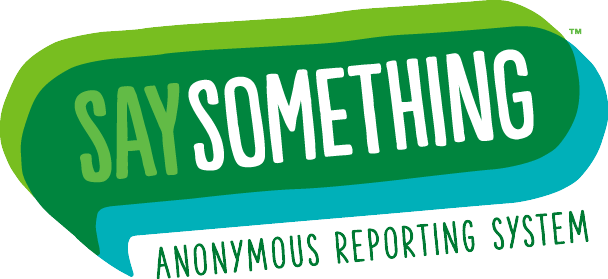 Say Something Anonymous Reporting System logo